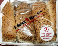 S Rosen S Mary Ann Poppy Seed Hot Dog Buns