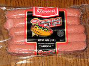 Klement's Beef Chicago Brand Hot Dogs