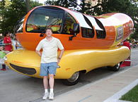 Mitch & the Oscar Mayer Weinermobile