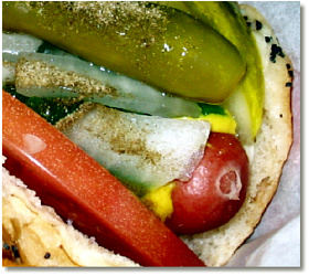 A Classic Chicago Dog