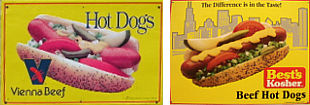 Examples of Hot Dog Signs
